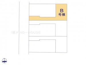 小平小川町2丁目2期_B号棟_全体区画図_0362172