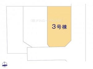 小平花小金井5丁目_3号棟_全体区画図_0400269