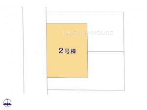 小平市学園西町4期3棟_2号棟_全体区画図_0403160