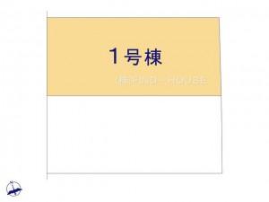 小平花小金井_1号棟_全体区画図_0394320