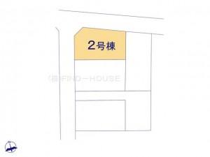 小平市上水本町5期5棟_2号棟_全体区画図_0407206