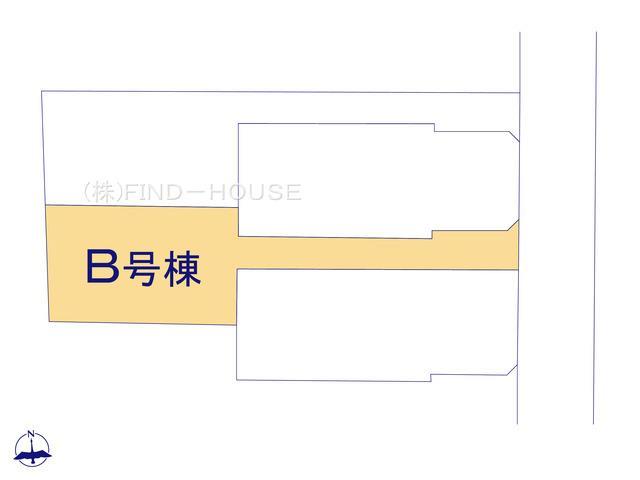 B号棟区画図