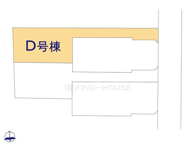 D号棟区画図